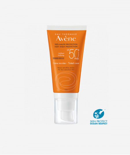 Avene Solar Emulsion SPF50 Coloreada