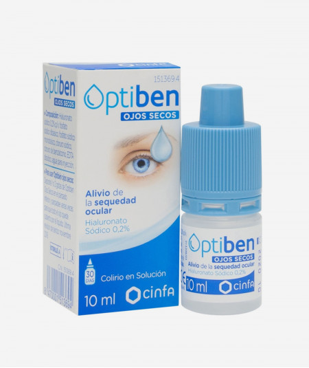 Optiben Ojos Irritados 15 ml